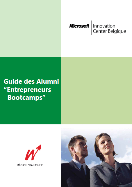 Guide des Alumni des Entrepreneur Bootcamps 1 et 2 du Microsoft Innovation Center