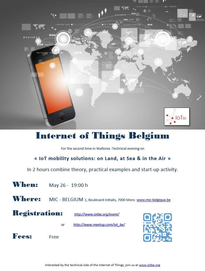Internet Of Things Belgium - IoTBE