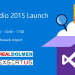 Lancement de Visual Studio 2015